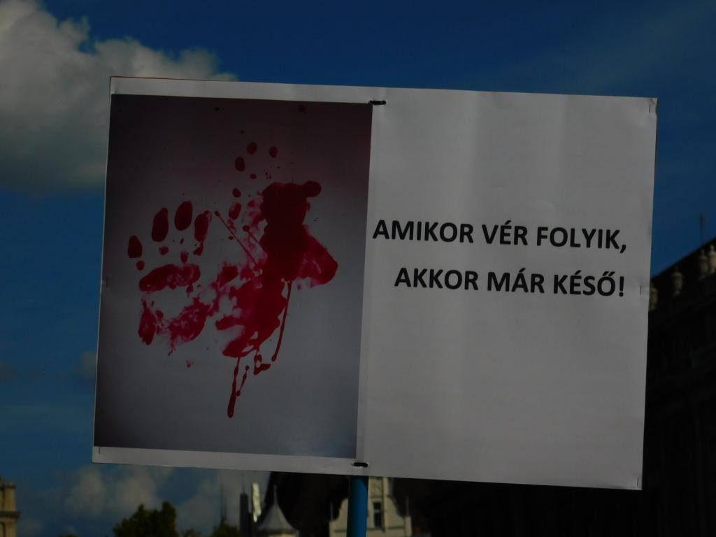 NANE-tüntetés a családon belüli erőszak ellen 2019.09.14.