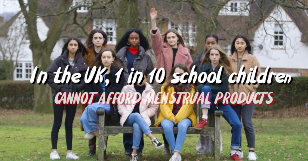 Az Egyesült Királyságban 10-ből egy diák nem tudja megengedni magának a menstruációs eszközöket.
